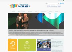 festivaldeturismodascataratas.com