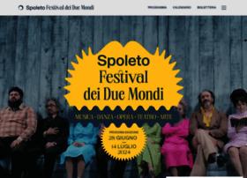 festivaldispoleto.com