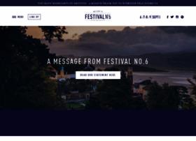 festivalnumber6.com
