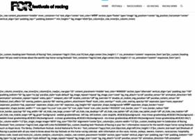 festivalsofracing.com