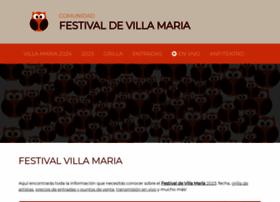 festivalvillamaria.com.ar