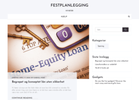 festplanlegging.no