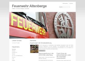 feuerwehr-altenberge.de
