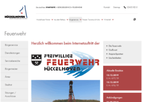feuerwehr-hueckelhoven.org