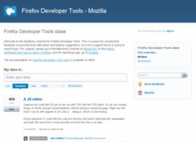 ffdevtools.uservoice.com