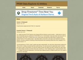ffxivexplorer.fragmenterworks.com