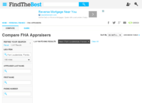 fha-appraisers.findthebest.com