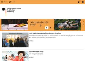 fhbund.de