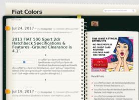 fiatcolors.info