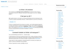 fichier-dll.fr