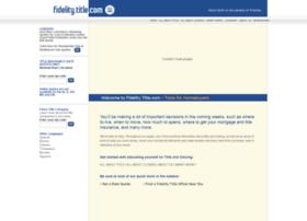 fidelity.title.com
