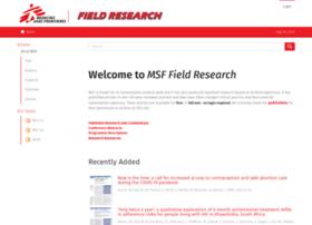 fieldresearch.msf.org