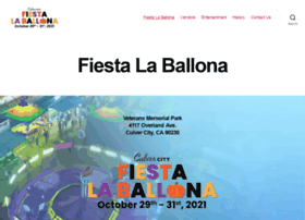 fiestalaballona.org