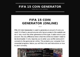 fifa15coingeneratoronline.wordpress.com