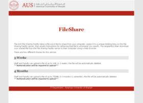 fileshare.aus.edu