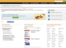 filingforbankruptcyonline.com