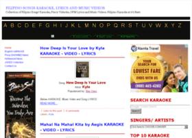 filipinosongskaraoke.blogspot.com