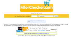fillerchecker.com