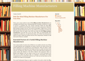 filling-machine-manufacturers.blogspot.com