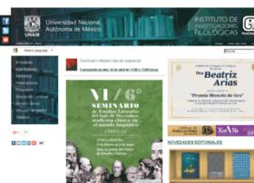 filologicas.unam.mx