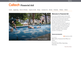 finaid.caltech.edu