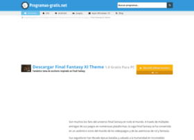 final-fantasy-11-theme.programas-gratis.net