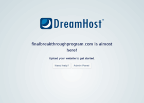 finalbreakthroughprogram.com