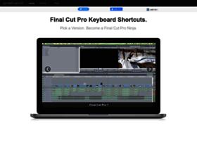 finalcutprokeyboardshortcuts.com