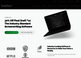 finaldraft.com