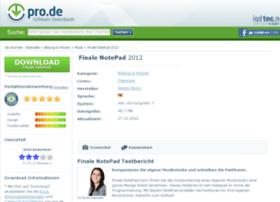 finale-notepad.pro.de