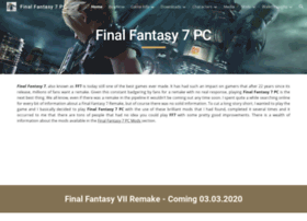 finalfantasy7pc.com