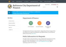 finance.baltimorecity.gov
