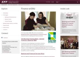 finance.eku.edu