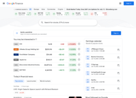 finance.google.ca