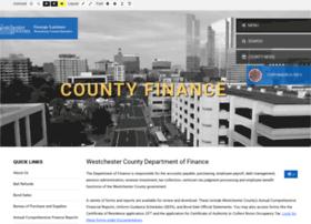 finance.westchestergov.com