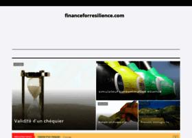 financeforresilience.com