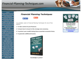 financial-planning-techniques.com