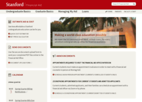 financialaid.stanford.edu