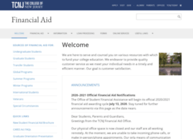 Financialaid.tcnj.edu