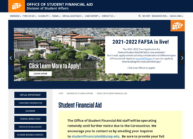 financialaid.utep.edu