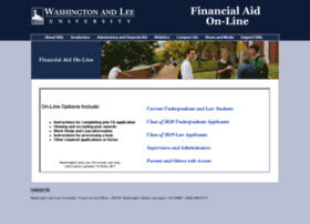financialaidapps.wlu.edu