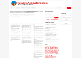 financialarticledirectory.info