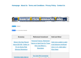 financialarticlesummariestoday.com