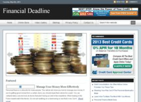 financialdeadline.com