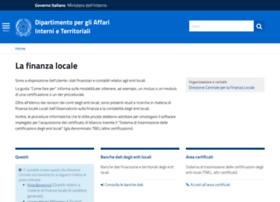 finanzalocale.interno.it