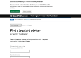 find-legal-advice.justice.gov.uk