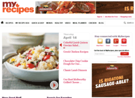 find.myrecipes.com