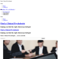 findaclinicalpsychologist.com