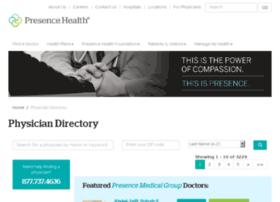 findadoctor.presencehealth.org