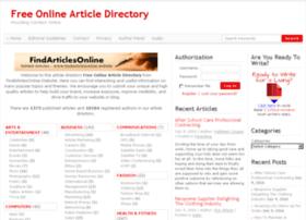 findarticlesonline.website